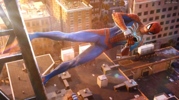 Spider-Man PS4 Selfie