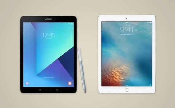 Galaxy Tab S3 vs iPad Pro 9.7