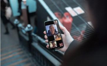 المكالمات الجماعية على FaceTime