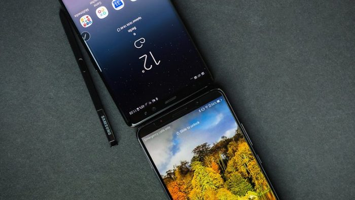 Huawei Mate 10 Pro vs Galaxy Note 8 Display
