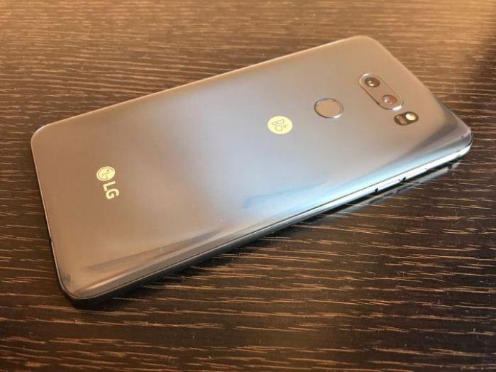 LG V30S ThinQ Back