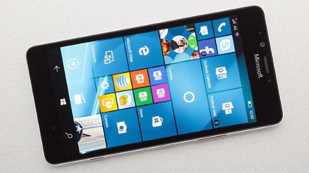 Lumia 950 Screen