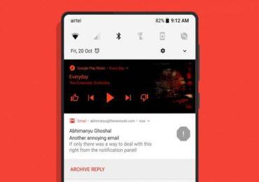 Material Notification Shade app