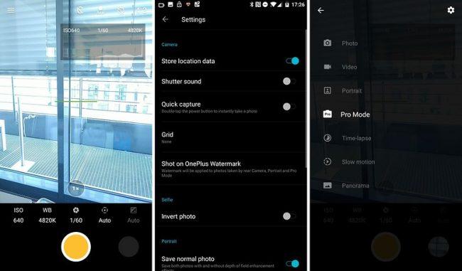 OnePlus 5 Camera app