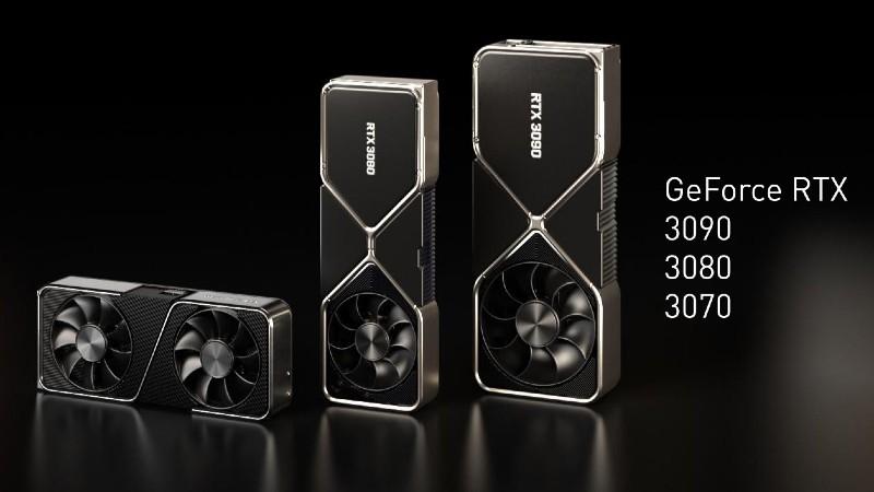 RTX 3090 وRTX 3080 وRTX 3070