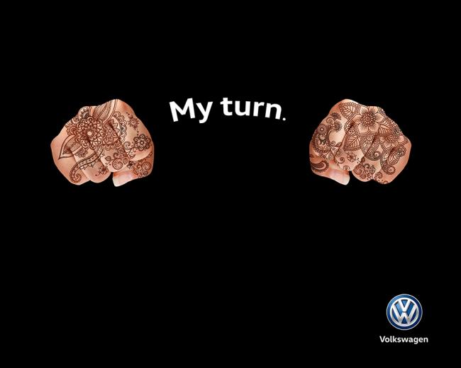 Saudi Woman Drive Volkswagen