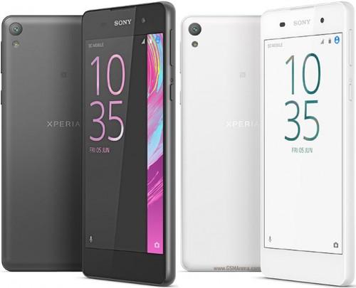 Sony Xperia E5 Design