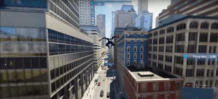 Spiderman-PS4 Tricks