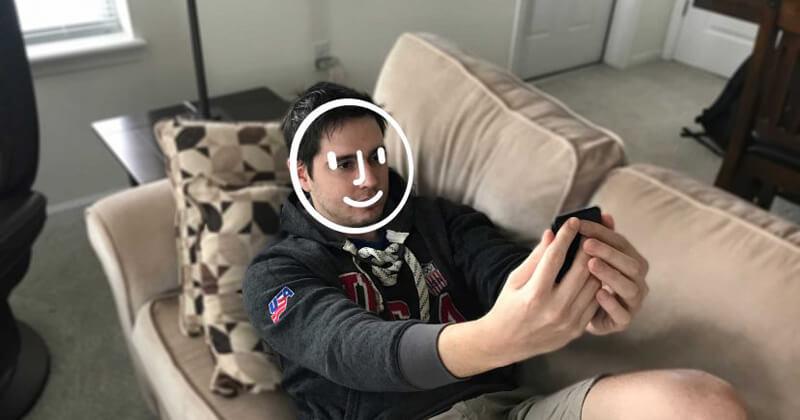 إلغاء قفل الهاتف بواسطة Face ID