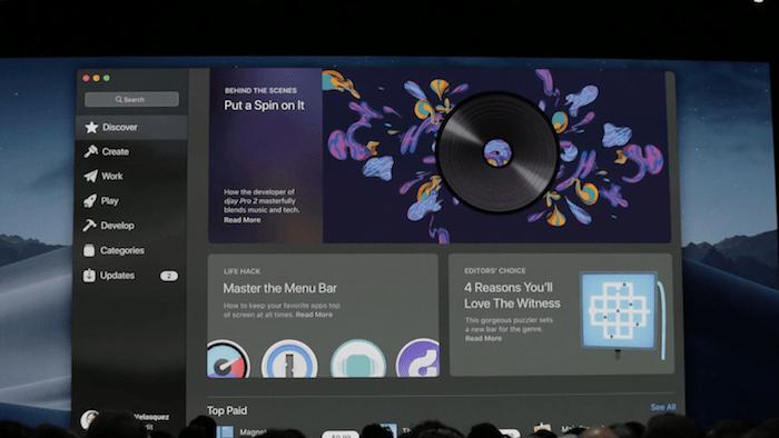 macOS Mojave Mac App Store Redesign