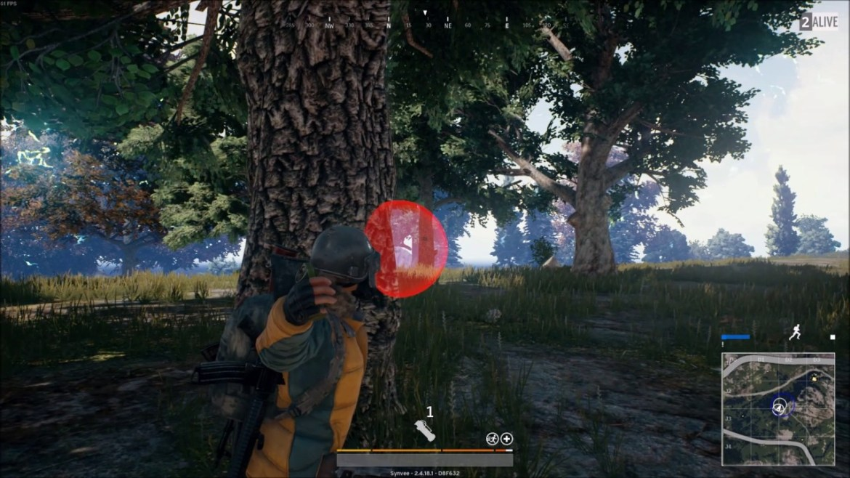 PUbg Red Circle