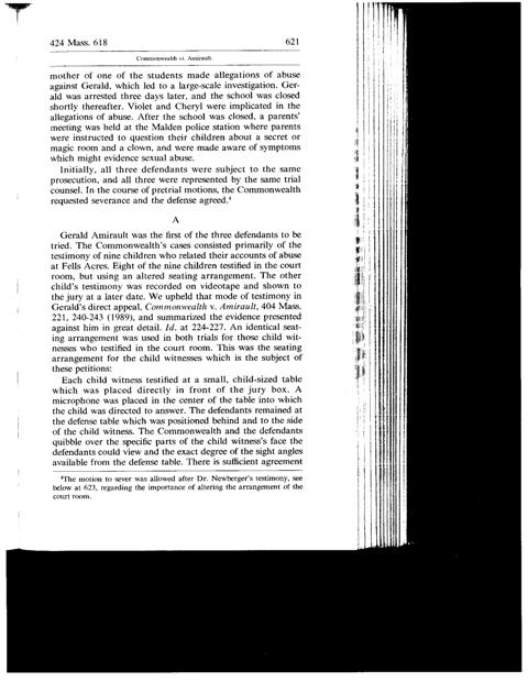 Common vs. Amirault - 424 Mass. 618 - Page621