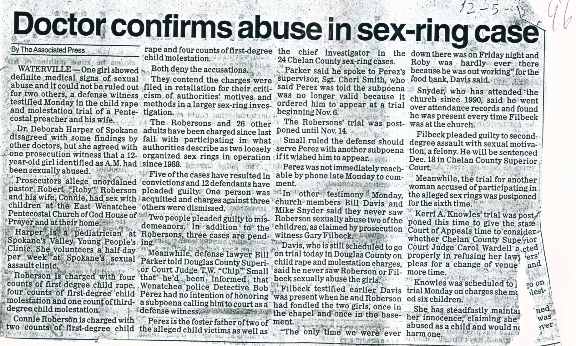 Doctor confirms abuse in sex-ring case