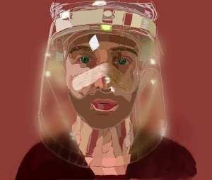 Josh Portrait for Healthcare Heroes