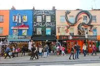 Dragões, anjos, vampiros. Quer ter uma loja louca? Camden Town é o seu lugar.
