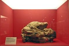 Múmia maia preservada no Museu da Medicina.