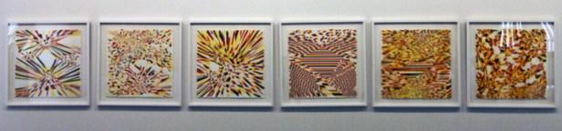 A incerteza geométrica em quadros e cores.