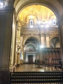 A nave central da Catedral de Buenos Aires