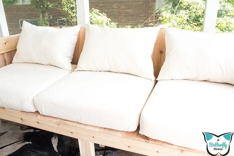 cheap diy outdoor cushions a