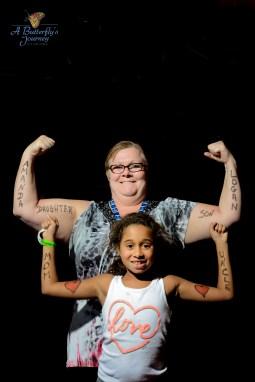 """Amanda – Daughter / Logan – Son; Mother & Uncle"""