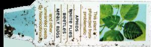 Neonicotinoid Plant Label