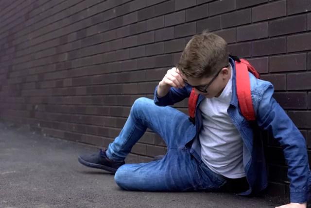 Un niño acosado