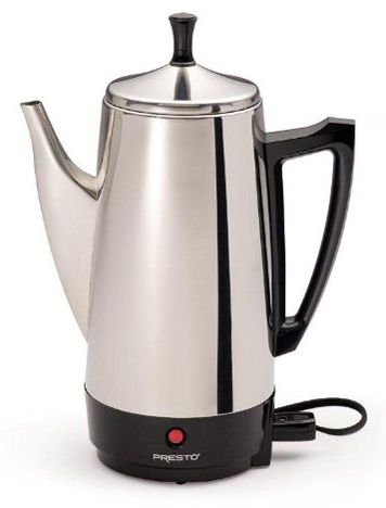 10. Presto 02811 12-Cup Stainless Steel Coffee Maker