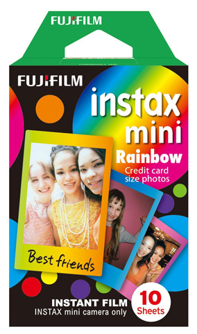 5. Fujifilm Mini Rainbow Instant Film