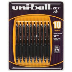 I use Uni-ball .7mm pens