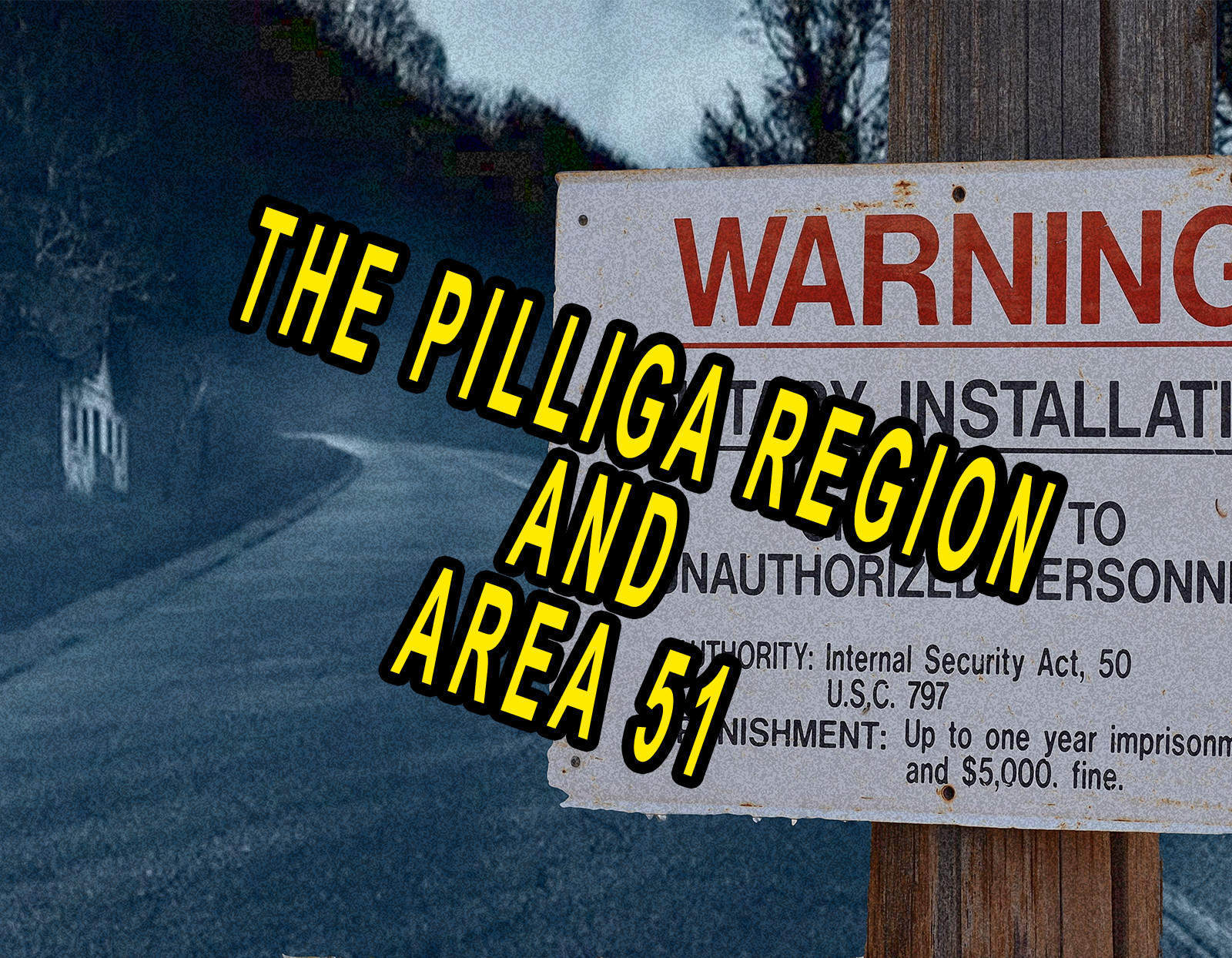 The Pilliga Region and Area 51 From Get Spooky Is Now Available