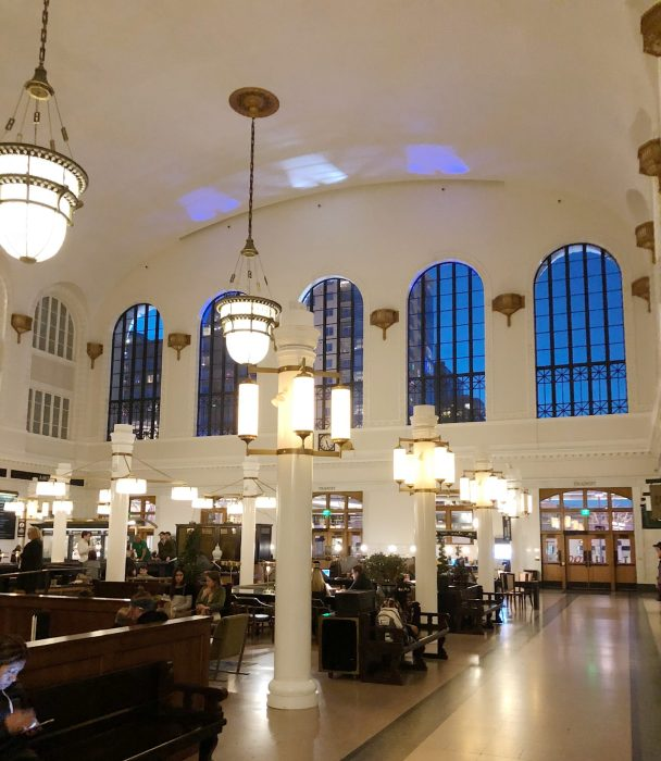 crawford hotel lobby | where to stay in Denver | Crawford hotel review