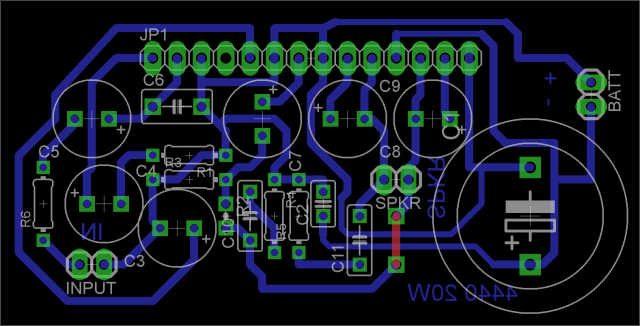 Making the LA4440 amplifier…   Aby's Laboratory………