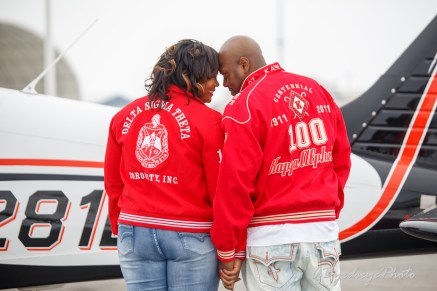 Bowling Green engaged couple