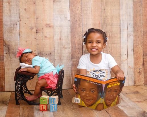 Newborn Studio Photograph
