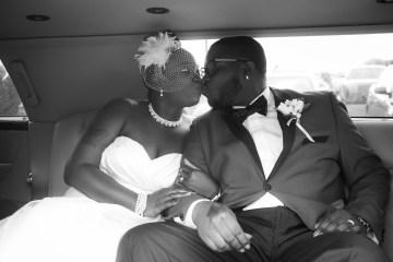 Toledo Limo Wedding Portrait