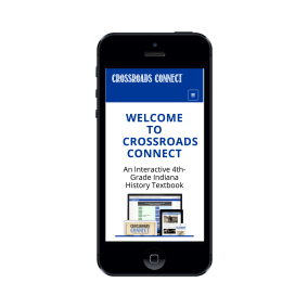 Crossreoads Connect Homepage on mobile.