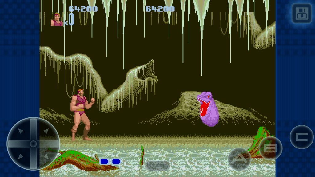 Altered beast level 2 slimy beast