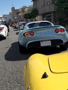 出発していきなり渋滞にハマりました。Photo:M.F.