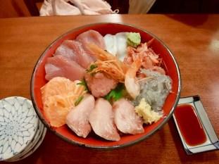 海鮮丼も美味しそう。Photo:N.A.