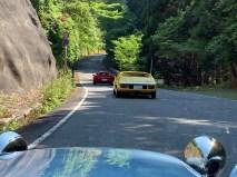 荒野龍神スカイラインは途中に信号も無く超快走路です。Photo:F.H.