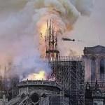 パリ・ノートルダム大聖堂の火災