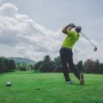 北海道でゴルフ
