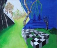 A.C.Rosmon, surrealisme, kompleks verden,