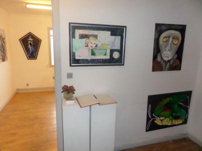 Kunstudstilling, surrealisme, A.C.Rosmon