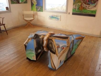 Kunstudstilling, 3-D, A.C.Rosmon