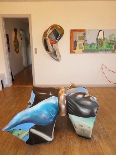 Kunstudstilling, 3-D