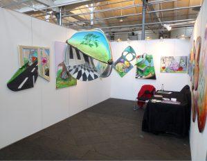 Fra en Kunstmesse