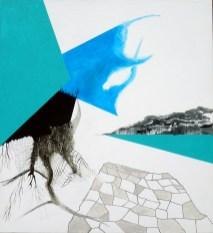 blå,hvid, sort,surrealisme,A.C.Rosmon