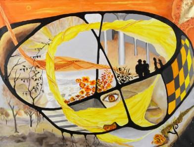 Gul, orange, surrealime, A.C.Rosmon,