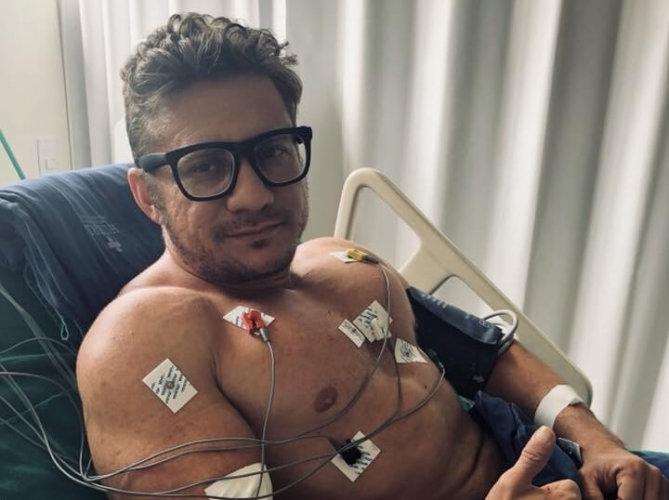 Médico diz que está bem e afirma que arritmia foi causada por uso de energético | ac24horas.com - Notícias do Acre